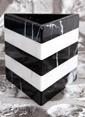 3Wdesign El Yapımı Mermer Kalemlik Büyük Boy Siyah